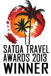 Travel Butlers - Best Tour Operator Winner at the 2013 SATOA  Awards